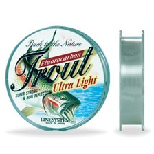 FLUOROCARBONE LINESYSTEM TROUT ULTRA LIGHT
