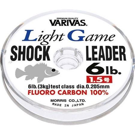 FLUOROCARBONE MER VARIVAS LIGHT GAME SHOCK LEADER MEBARU - 30M