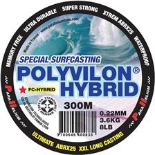 Leaders Parallelium POLYVILON FLUORO HYBRID SURFCASTING BLEU 300M 31/100