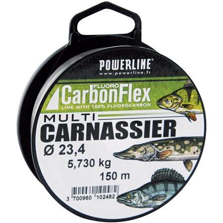 FLUOROCARBONE POWERLINE CARBONFLEX MULTICARNASSIER - 150M