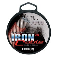 Leaders Powerline IRON CABLE 2.5M 12KG