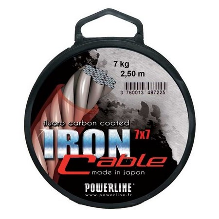 FLUOROCARBONE POWERLINE IRON CABLE