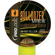 BULLDOZER FLUOROCARBON COATED MONO 1000M FLUO JAUNE 28/100
