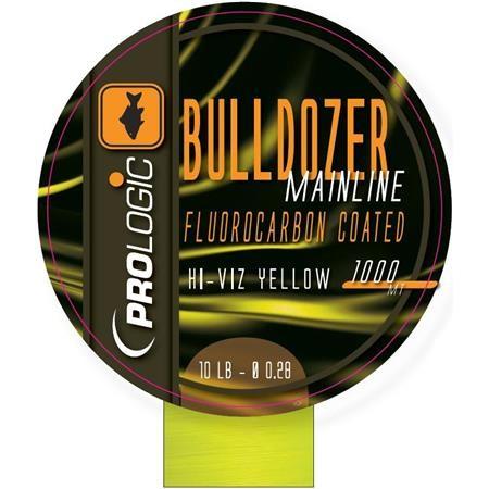 FLUOROCARBONE PROLOGIC BULLDOZER FLUOROCARBON COATED MONO 1000M - FLUO JAUNE