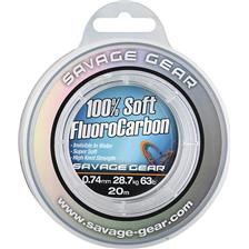 FLUOROCARBONE SAVAGE GEAR SOFT FLUORO CARBON