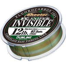 FLUOROCARBONE SUNLINE SHOOTER FC SNIPER INVISIBLE - 75M