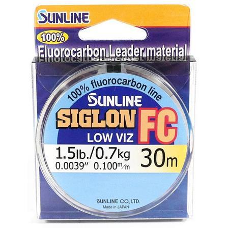 FLUOROCARBONE SUNLINE SIGLON FC - 30M