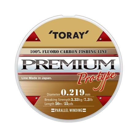 FLUOROCARBONE TORAY PREMIUM - 50M