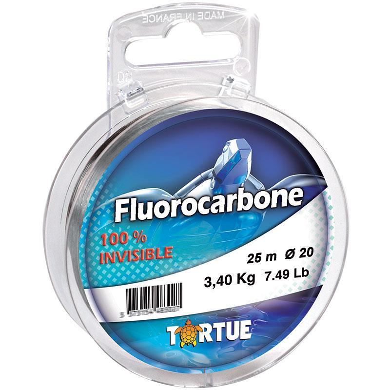FLUOROCARBONE TORTUE - 25m - 12/100