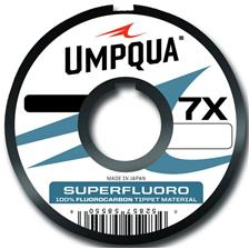 Bas de Ligne Umpqua SUPER FLUORO 27M 27M 25/100