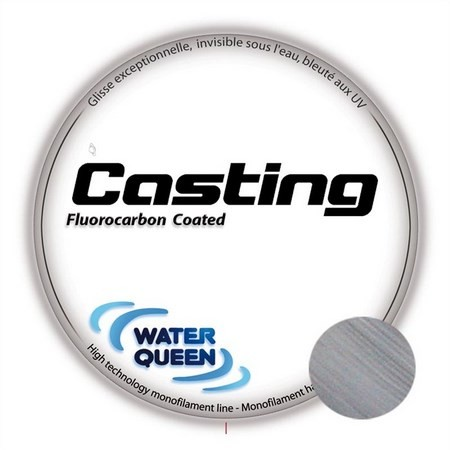 FLUOROCARBONE WATER QUEEN CASTING CLEAR - 200M