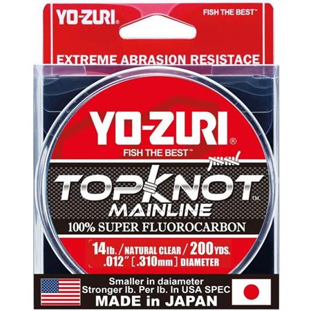 FLUOROCARBONE YO-ZURI TOPKNOT - MAINLINE - 182M