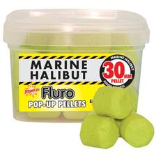 FLURO PELLETS DYNAMITE BAITS YELLOW NAVY