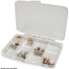 FLY FISHING CASE TOF POCKETFLY 12 COMPARTMENTS