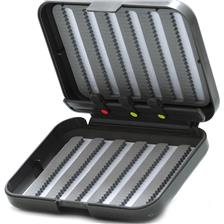 FLY FISHING CASE TOF POCKETFLY 2 FACES 6 ROWS 3 PASSE FILS