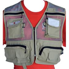 FLY FISHING VEST PAFEX SALT AND FRESH SUMMER