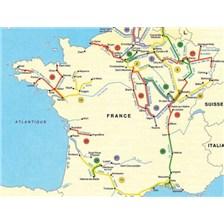 FRENCH WATERWAYS MAP PLASTIMO