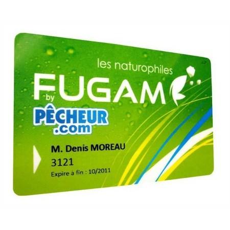 FUGAM KAART BY BY PECHEUR.COM 12 MAANDEN
