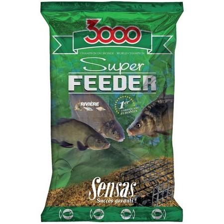 FUTTER SENSAS 3000 SUPER FEEDER FLUSS