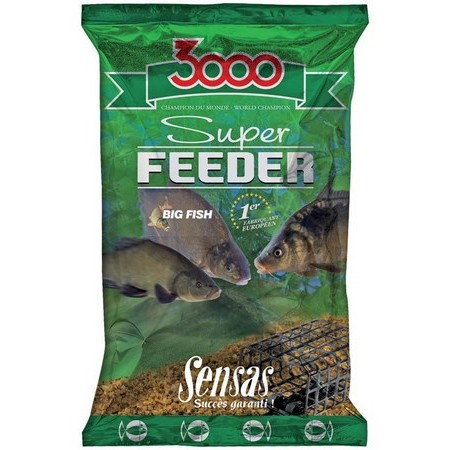 FUTTER SENSAS 3000 SUPER FEEDER GROSSE FISCHE