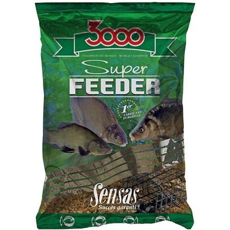 FUTTER SENSAS 3000 SUPER FEEDER LAKE BLACK