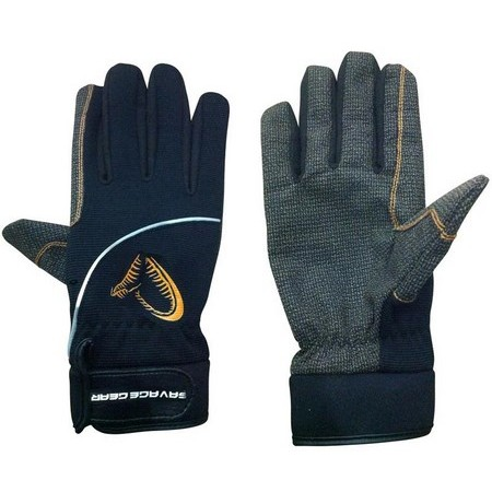 GANTS HOMME SAVAGE GEAR SG SHIELD GLOVE - NOIR