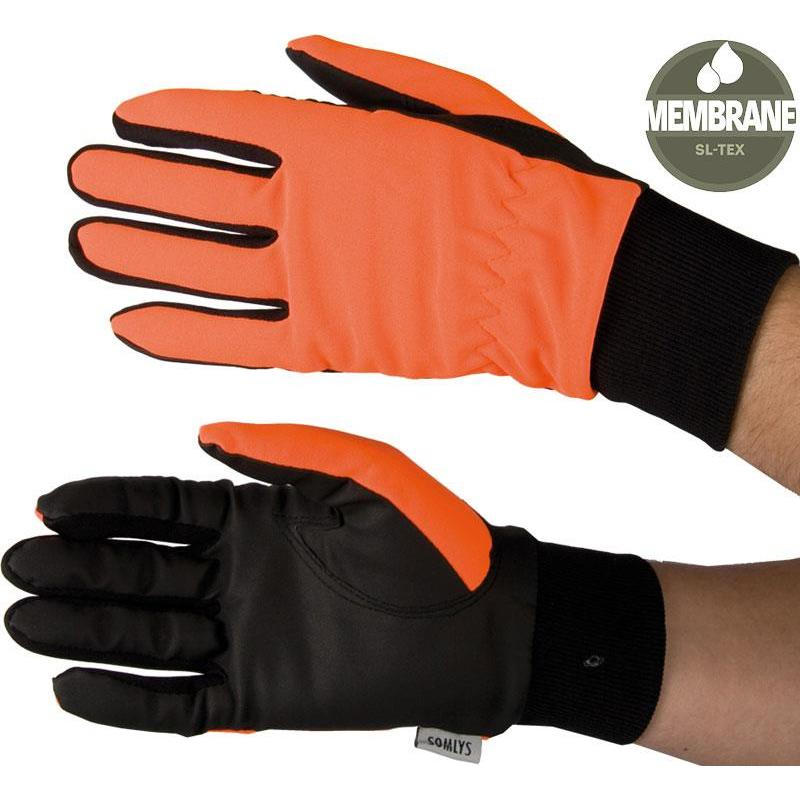 gants homme somlys 816 orange. Black Bedroom Furniture Sets. Home Design Ideas