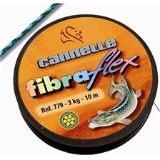 GEFLOCHTENE VORFACHSCHNUR STAHL ROSTFREI CANNELLE FIBRAFLEX 779