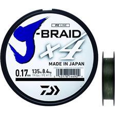 GEVLOCHTEN LIJN DAIWA J BRAID X4B - 135M
