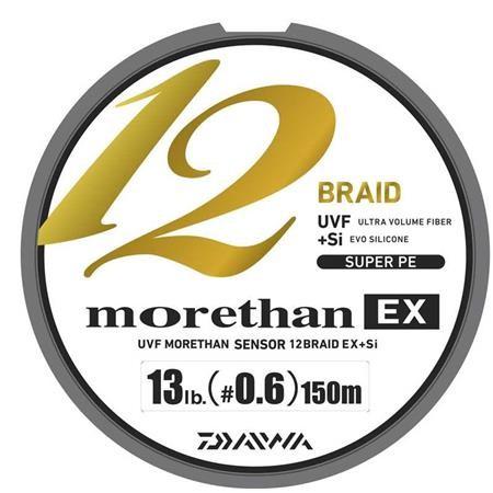 GEVLOCHTEN LIJN DAIWA MORETHAN 12 BRAID EX GROEN - 135M