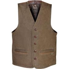 GILET CHASSE HOMME CLUB INTERCHASSE BRICE - MARRON