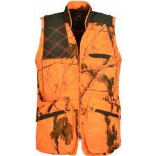 GILET CHASSE HOMME CLUB INTERCHASSE CLARK - CAMOU ORANGE