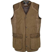 GILET CHASSE HOMME PERCUSSION RAMBOUILLET - BRONZE