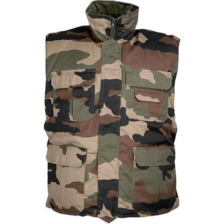 GILET CHASSE JUNIOR PERCUSSION RANGERS - CAMO