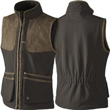 GILET CHASSE JUNIOR SEELAND WINSTER SOFTSHELL - MARRON