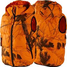 GILET CHASSE JUNIOR SEELAND YUKON - ORANGE