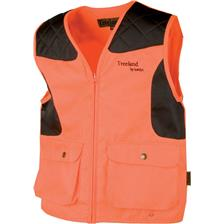 GILET CHASSE JUNIOR TREELAND T 250 K - ORANGE