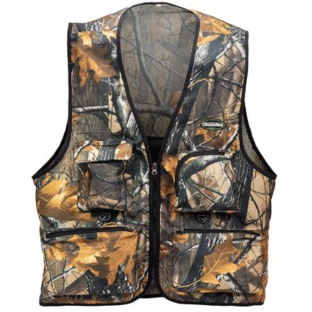GILET DE PECHE GARBOLINO LONG TROOPER - CAMO