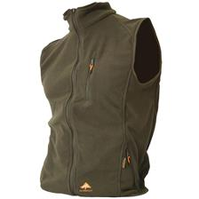 GILET HOMME ALPENHEAT FLEECE AJ4 - KAKI