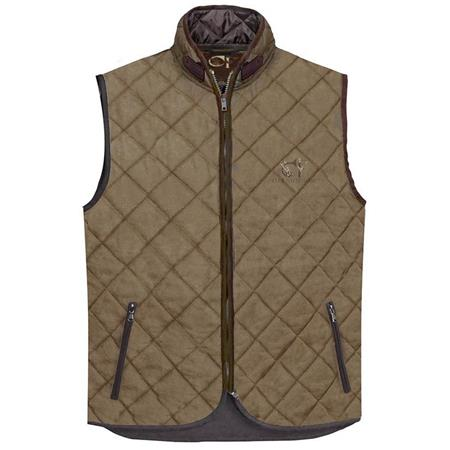 GILET HOMME CLUB INTERCHASSE JAMES - TABAC