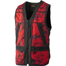 GILET HOMME HARKILA LYNX SAFETY - CAMOU/ROUGE