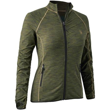GILET POLAIRE FEMME DEERHUNTER LADY INSULATED FLEECE - GREEN MELANGE