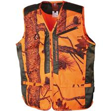 GILET SANS MANCHE HOMME SOMLYS 251N SPIRIT OF TRAQUE - CAMOU ORANGE