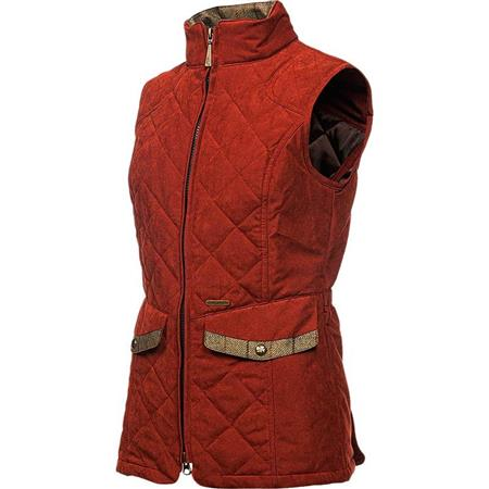 GILET SANS MANCHES FEMME BALENO CHESTER - ROUGE