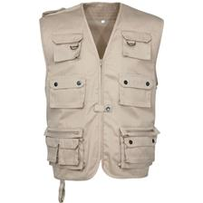 GILET SANS MANCHES HOMME IDAHO REPORTER - BEIGE
