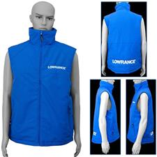GILET SANS MANCHES HOMME LOWRANCE BODY WARMER - BLEU ROYAL