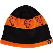 GORRO HOMBRE FOX BLACK & ORANGE BEANIE