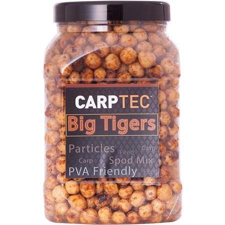 GRAINE PREPAREE DYNAMITE BAITS CARP-TEC PARTICLES BIG TIGER NUTS