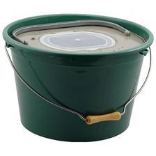GREEN LIVEBAIT BUCKET PLASTILYS 25L