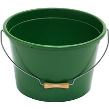 GROUNDBAIT BOWL PLASTILYS 25L - GREEN